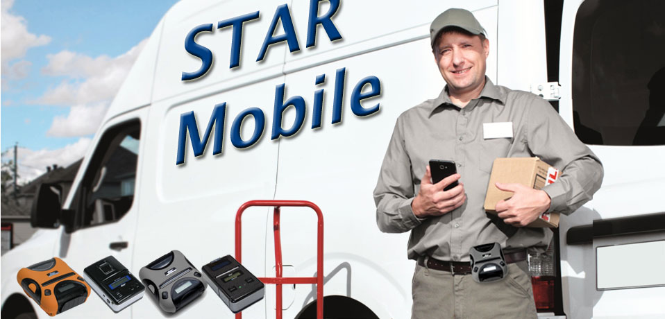 STAR's range of cost-effective wireless mobile printers offer both Bluetooth SPP as well as MFi connectivity and are designed to work with Tablets and Smartphones in a range of mPOS and Mobile Payment applications.